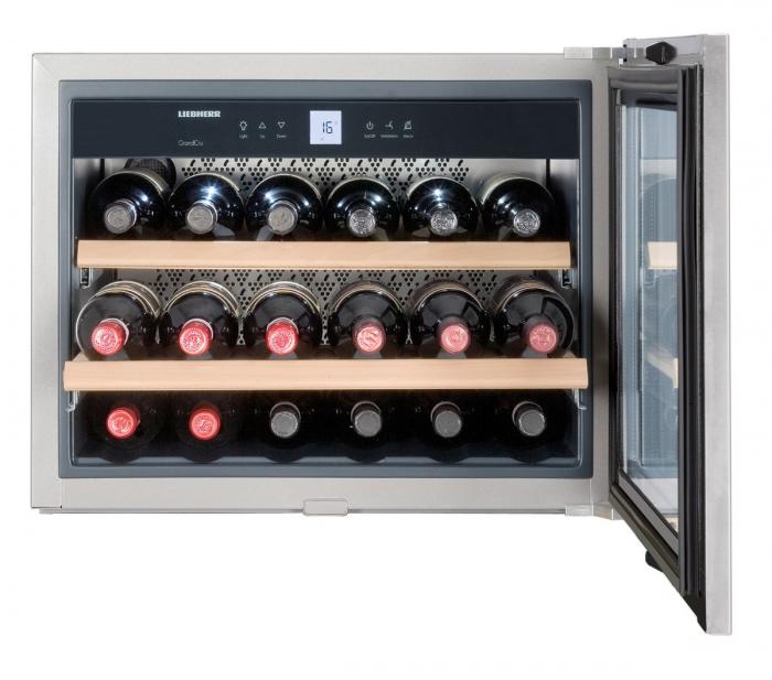 WKEes 553 GrandCru Vitrină de vin încorporabilă [0]