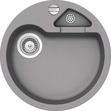 Chiuveta Granit Schock Classic R-100 Croma Cristalite 510 x 510 mm cu Sifon Automat [0]