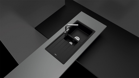 Chiuveta Granit Schock Element D-150 Croma Cristalite 1000 x 500 mm [1]