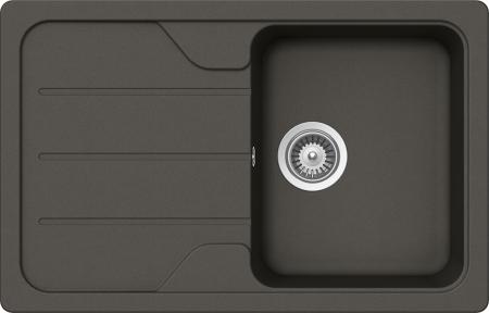 Chiuveta Granit Schock Formhaus D-100S Asphalt Cristalite 780 x 500 mm [0]
