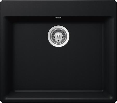 Chiuveta Granit Schock Galaxy N-100 Puro Cristadur 600 x 530 mm0