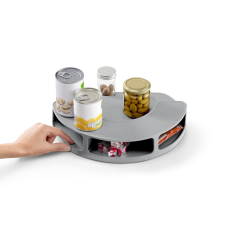 Organizator rotativ borcane & condimente Gri - Joseph&Joseph1