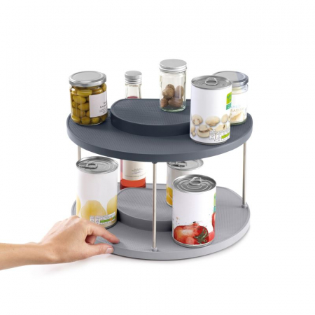 Organizator rotativ 2 nivele borcane&condimente - Joseph&Joseph1