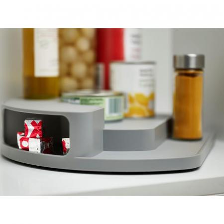 Organizator rotativ borcane & condimente Gri - Joseph&Joseph5