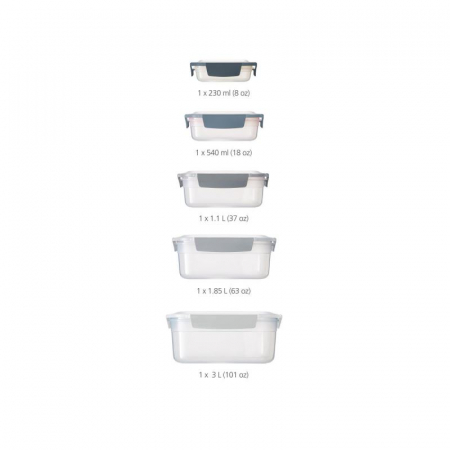 Set 5 cutii depozitare Edition Nest Lock - Joseph&Joseph0