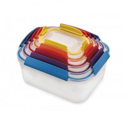 Set 5 cutii depozitare Nest Lock Multicolor - Joseph&Joseph0