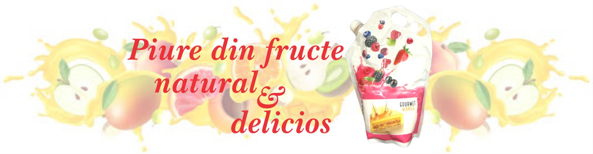 Piure gourmet din fructe