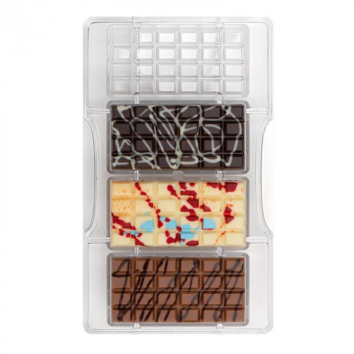 matrita-policarbonat-ciocolata-decor-tableta-medie-4-cavitati-ciocolaterie [0]