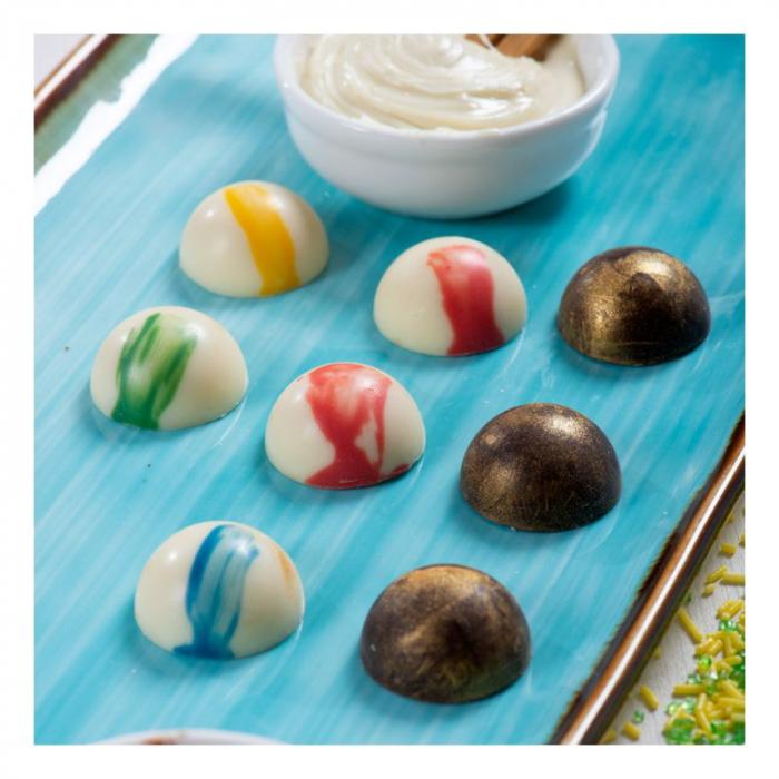 matrita-policarbonat-ciocolata-decor-semisfere-18-cavitati-ciocolaterie [1]