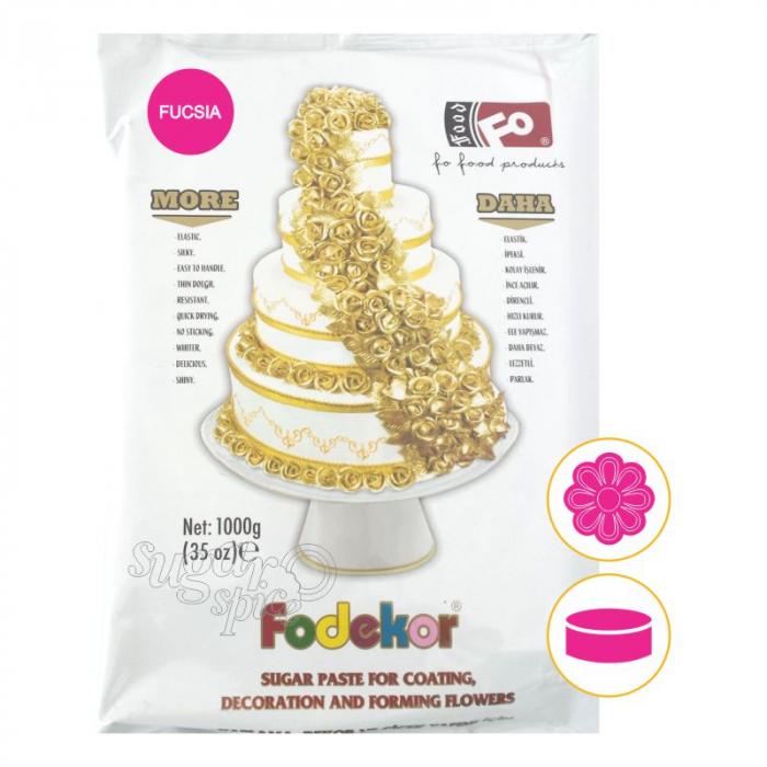 pasta-de-zahar-fondant-acoperit-tort-modelat-figurine-flori-roz-fucsia [0]