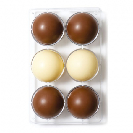 matrita-policarbonat-ciocolata-decor-semisfere-6-cavitati-ciocolaterie [0]