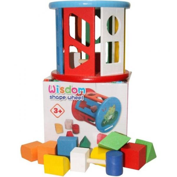Jucărie din lemn sortare forme și culori [1]