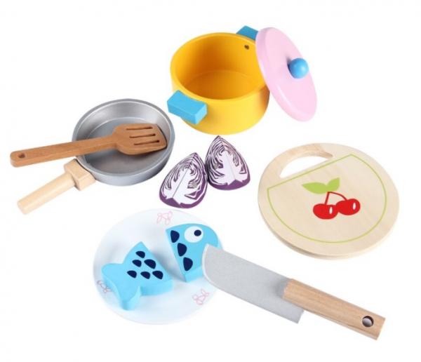 Joc de rol din lemn - Bucătărie cu legume [0]
