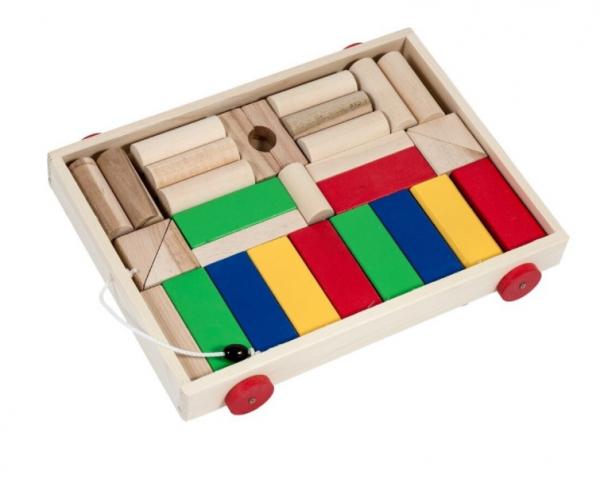 Carucior cuburi din lemn [0]