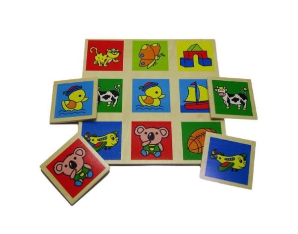 Joc educativ din lemn Bingo [1]