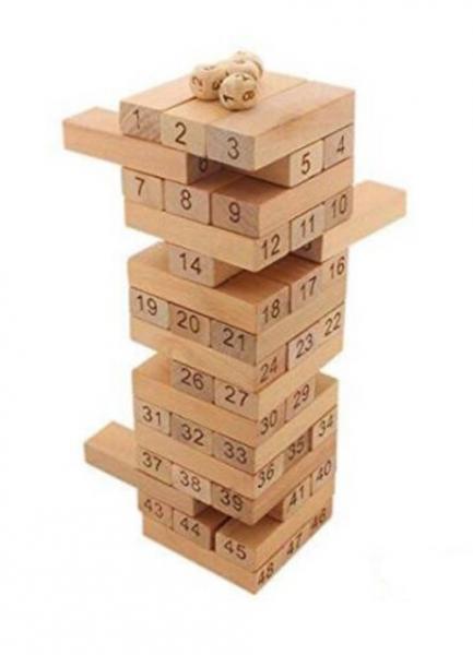 Jenga din lemn 54 piese [1]