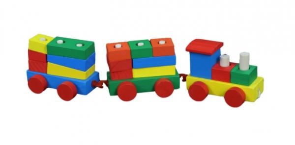 Trenulet sortator din lemn [1]