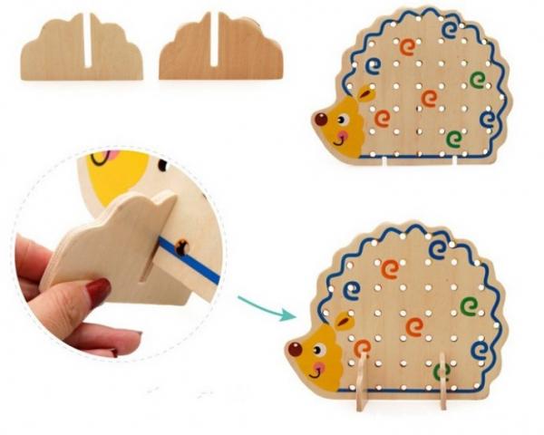 Jucarie tip Montessori Ariciul cu fructe [1]