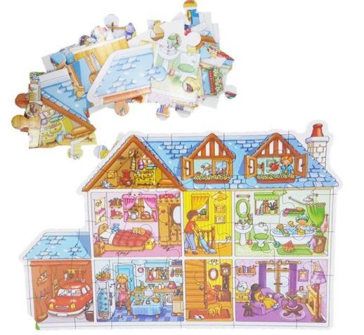 Puzzle Căsuța Păpușilor [0]