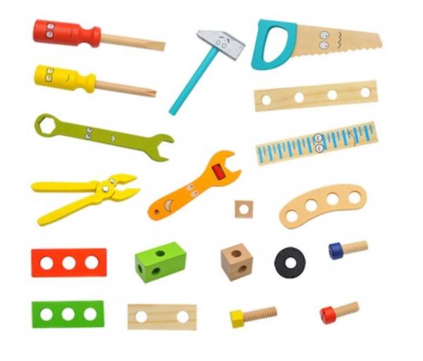 Trusă unelte din lemn pentru copii [2]