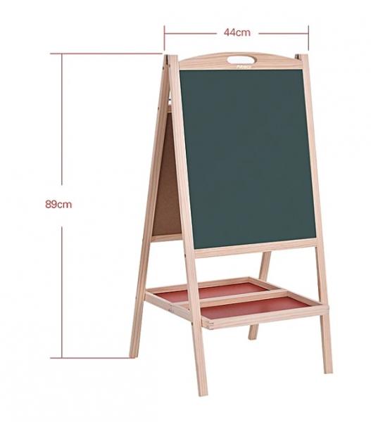 Tablă tip sevalet multifunctionala din lemn 3 în 1 [2]