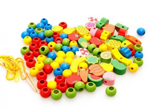 Jucarie tip Montessori Ariciul cu fructe [3]