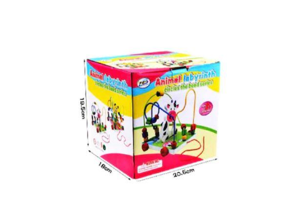 Jucărie motricitate fină Labirint mare - Văcuță [1]
