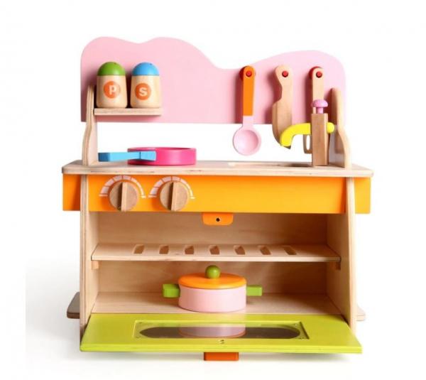 Bucătărie din lemn [5]
