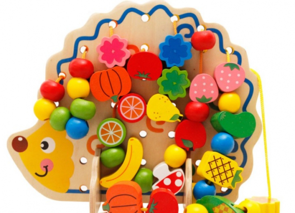 Jucarie tip Montessori Ariciul cu fructe [0]