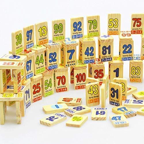 Joc educativ din lemn Domino în engleză [5]