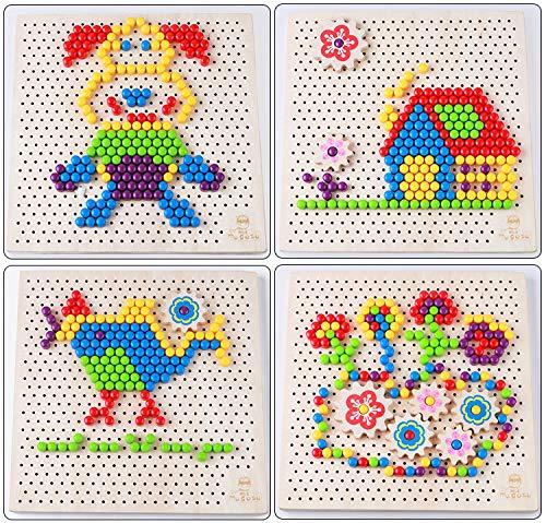 Joc mozaic Pixel din lemn [4]