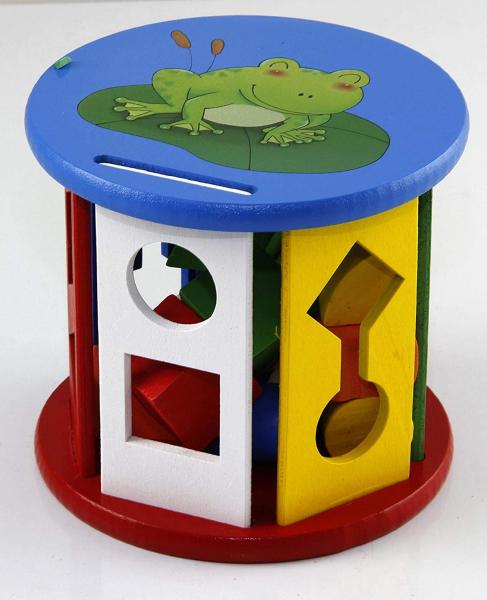 Jucărie din lemn sortare forme și culori [2]