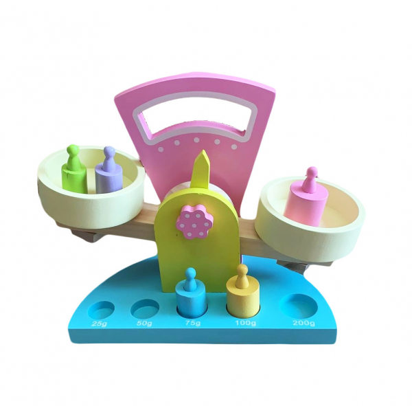 Balanță din lemn tip Montessori [0]