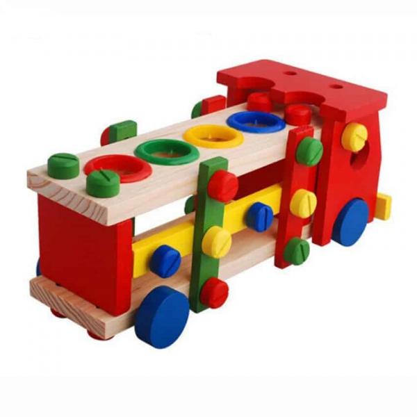 Camion banc de scule din lemn [3]