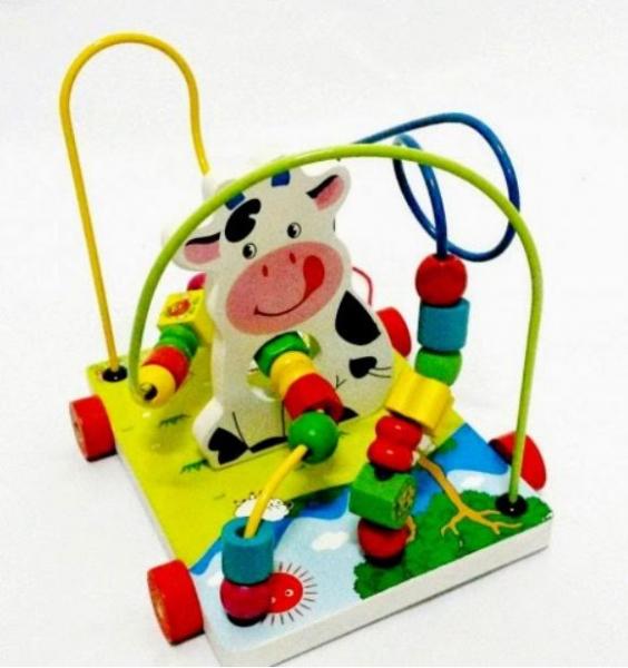 Jucărie motricitate fină Labirint mare - Văcuță [2]