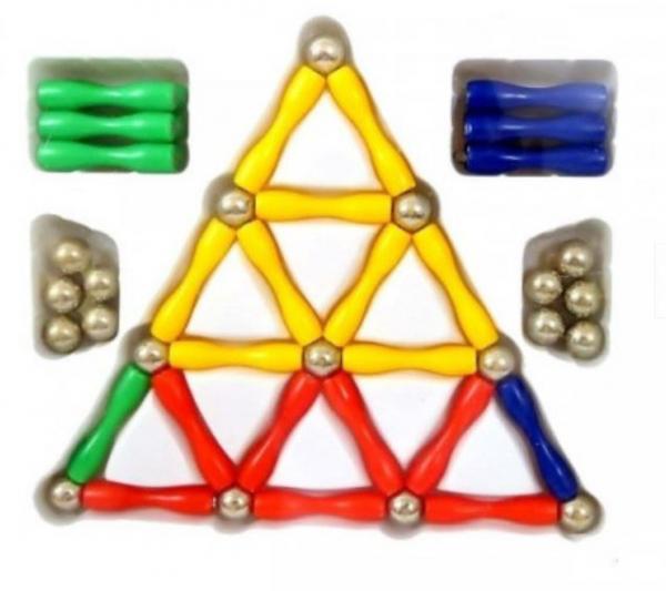 Joc magnetic construcții 3D [4]