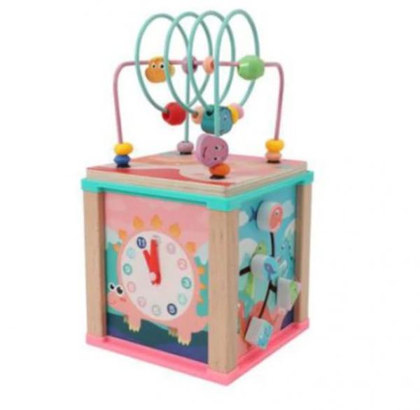 Jucărie cub interactiv cu 5 activități [0]