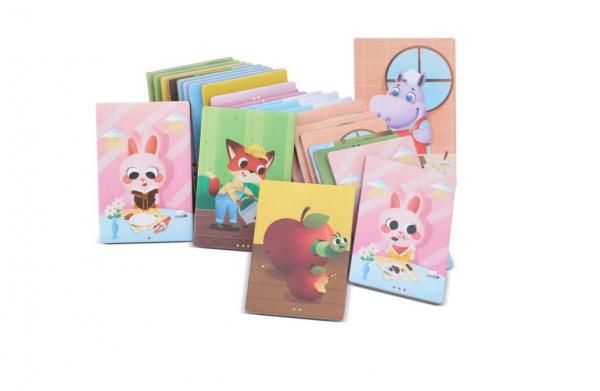 Joc educativ tip Montessori- asociere imagini viața animalelor [1]