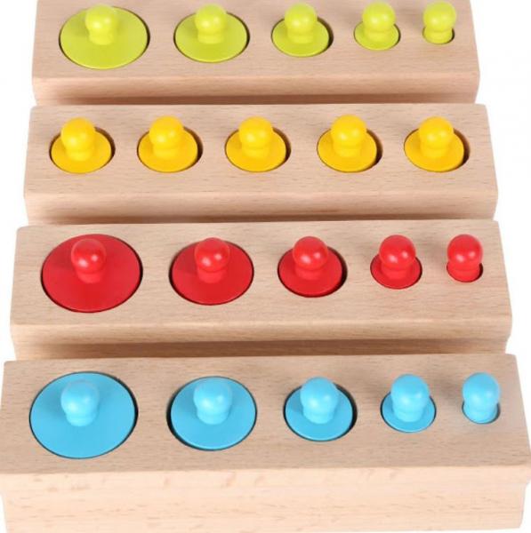 Cilindri Montessori din lemn [2]