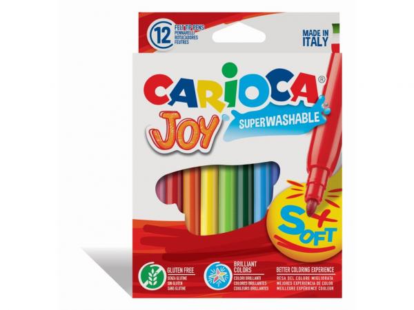 Carioca Joy Varf subtire Set 12 culori [0]