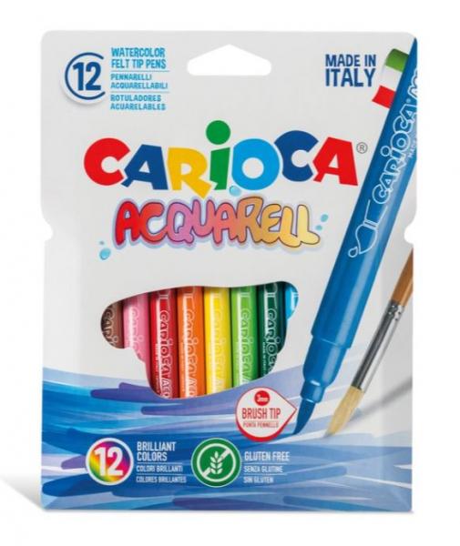 Carioca Acquarell Set 12 culori [0]