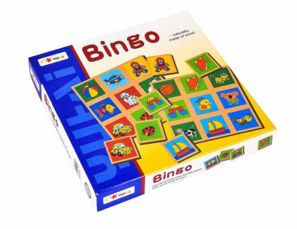 Joc educativ din lemn Bingo [0]