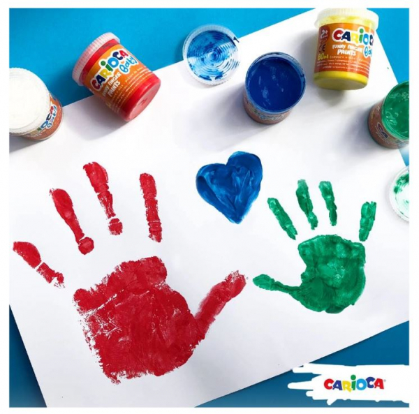 Vopsea pentru pictura cu degetele Tempera Finger baby [1]