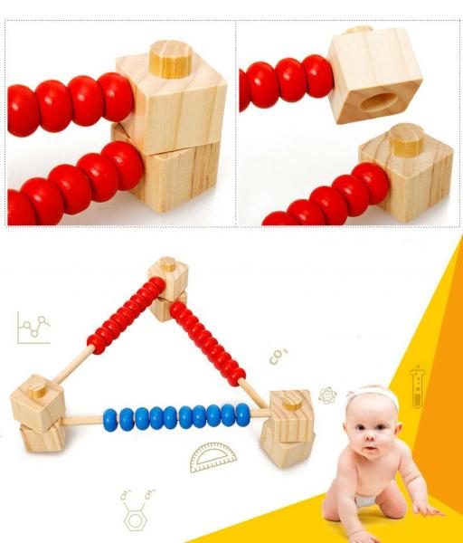 Numărătoare modulară din lemn [4]