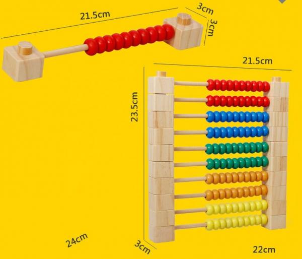 Numărătoare modulară din lemn [6]