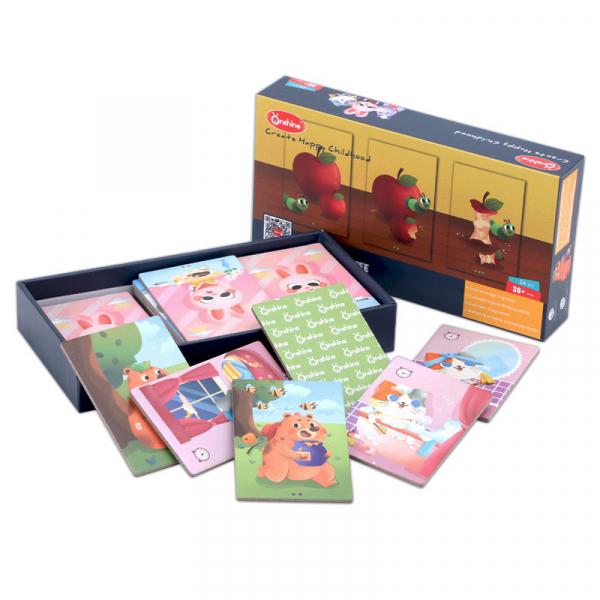 Joc educativ tip Montessori- asociere imagini viața animalelor [0]