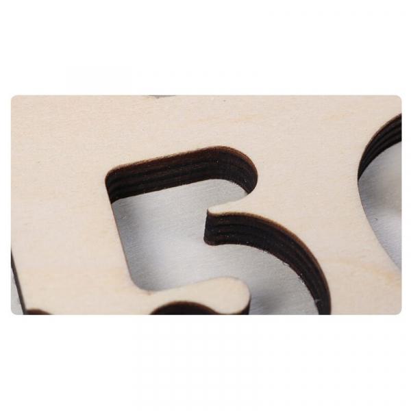 Tablă tip Montessori 3 în 1: Cifre, Forme geometrice și Numărătoare [2]