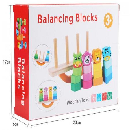 Joc din lemn sortare si echilibru [6]