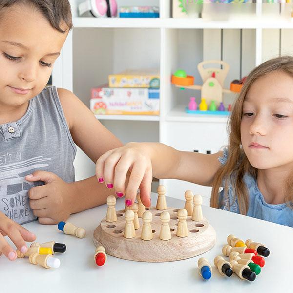oc de memorie din lemn – Memory Chess [2]