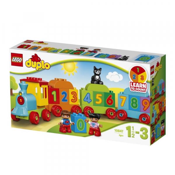 LEGO® DUPLO® - Trenulețul cu numere [3]
